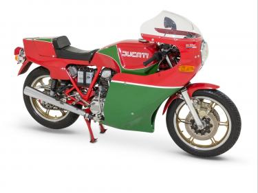 MHR 900 Mike Hailwood Replica